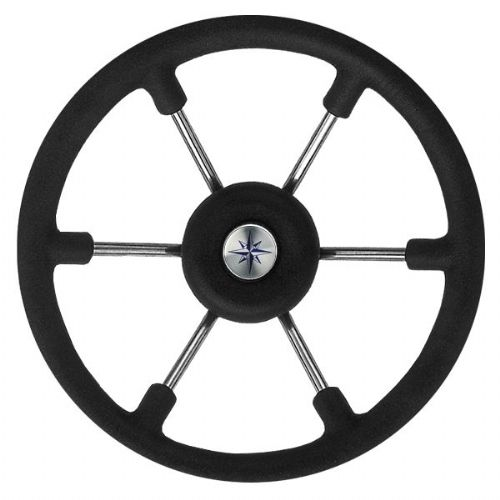 Steering Wheel Consul Black Grip 330mm
